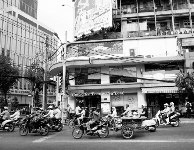 Street Photography, Vietnam, Travel Photography, Street, Travel, Ho Chi Minh City, Saigon, Black and White Photography,_-3