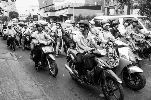 Street Photography, Vietnam, Travel Photography, Street, Travel, Ho Chi Minh City, Saigon, Black and White Photography,_-4